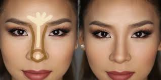 how to fake a thinner nose