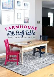 Dining Table Toddler Dining Table Set Childrens And 6 Chairs
