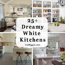 white kitchen ideas. 25+ Dreamy White Kitchen Ideas | NoBiggie.net T