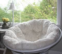 White Papasan Chair Cushion Cheap For Pretty Home Furniture Ideas