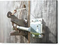 garden gate latches metal latch of canvas print by and catches homebase garden gate latches