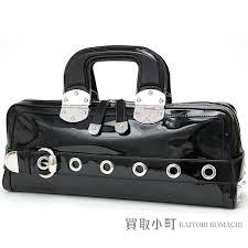 brand name boston bag model number 177100 color black material patent leather