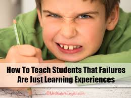 how to teach students that failures are just learning experiencesfail  first attempt in learning