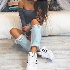 adidas shoes 2016 for girls tumblr. cute outfit w adidas super star sneakers shoes 2016 for girls tumblr s
