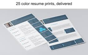 Resumate Enchanting Color Resume Prints Creative Design Resume Printing Resumates