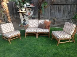 Bamboo Patio Furniture Cushions Cushionsbamboo Craigslist Sets