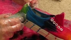 tie dye vans shoes