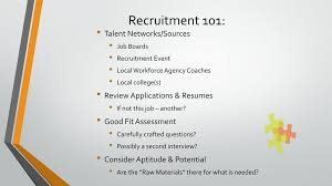 Recruitment Retention Ppt Download
