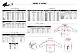 Md Size Chart Ufo Size Guide Chart By Md Racing Products Ltd Issuu