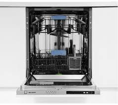 sharp integrated dishwasher. sharp qw-d21i492x full-size integrated dishwasher sharp w