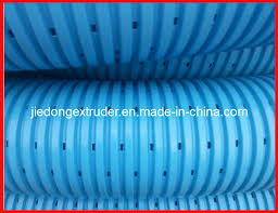 china 50 150mm perforated corrugated pipe ion line china perforated corrugated pipe ion l perforated corrugated pipe extrusion