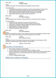 Account Assistant Cv Format Pdf Profile Sample Accounts Template