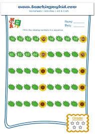 Kindergarten Knowledge Menu Math Worksheets Free Kids Study ...