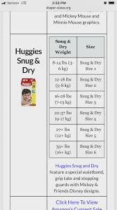 21 You Will Love Diapers Size Weight Chart