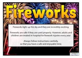 fire works safety fireworks safety posters teaching ideas