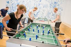 After Work You Can Play Table Goodgame Studios Office Photo