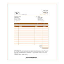 price estimate template free price quote templates available for download