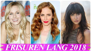 Aktuelle Frisuren F R Lange Haare 2018 Damen Youtube