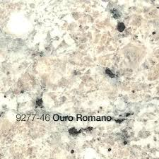 etchings laminate kitchen end cap with ouro romano countertop belanger fine countertops surprising sheets more