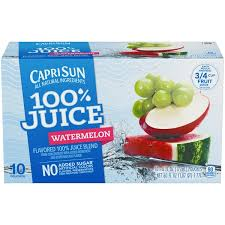 caprisun watermelon 100 capri sun watermelon 100 juice