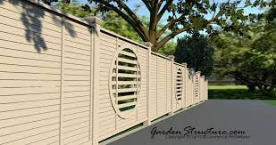 fence design. Photo Realistic Fence Designs Design