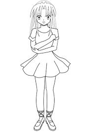 Disegno Di Ballerina Anime Da Colorare Disegni Da Colorare E