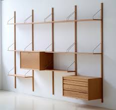... Shelves, Wall Mounted Shelving Systems Wall Mounted Bookshelves Ikea  Made From Wood With Many Side ...