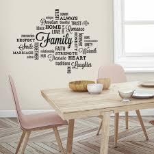 family quote wall art sticker l