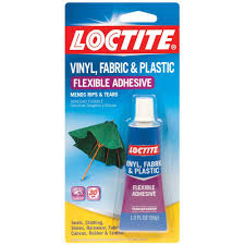 vinyl fabric and plastic 1 fl oz flexible adhesive