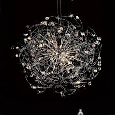 diyas il30172 messe 24 light polished chrome ceiling pendant