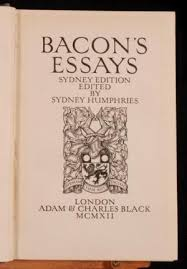 how to write a good bacon as an essayist he is very much known for his essays and so his place is great as an essayist