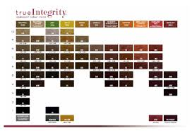True Integrity Scruples Color Chart In 2019 Hair Chart