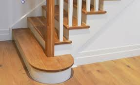 A Tread Extension That Softens The Look Of The Staircase.
