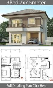 27+ Top House Design Ideas And Plans in 2020 | Bungalow house design,  Duplex house design, 2 storey house design