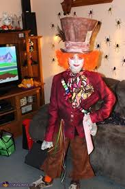 mad hatter from alice in wonderland costume works