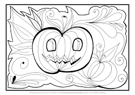 Free Printable Coloring Pages Halloween And