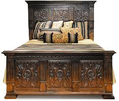 tuscan style bedroom furniture. Old World Tuscan Style Bed Bedroom Furniture