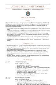 Fmcg Sales Manager Resume Sample Territory Regional Job Description