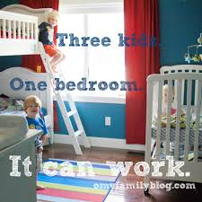 Kids Shared Bedroom Three Kids In One Bedroom O My Family This New Moms Blog