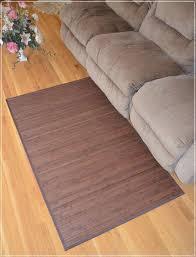 bamboo area rug carpet indoor outdoor wood 5 x 8