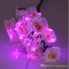 vase lighting. pink submersible led tiny micro wire string lights coin battery operated light for wedding vase flower decoration clear lighting x