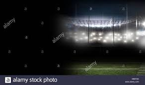 Stadium Lights Effect Digital Composite Of Sports Stadium Lights Transition Effect