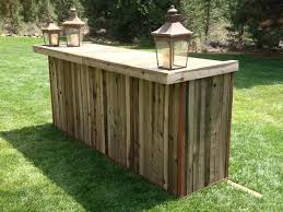 portable wood bar mobile made from wooden pallets google search diy