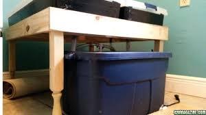flood and drain table diy i built a x flood and drain table with some simple supplies flood and drain table diy