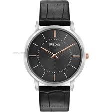 "men s bulova ultra slim watch 98a167 watch shop comâ""¢ mens bulova ultra slim watch 98a167"