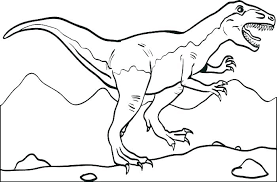 dinosaurs to color. Interesting Dinosaurs Picture Of A Dinosaur To Color Coloring Pages Printable Cartoon  Page For Free Images Dinosaurs