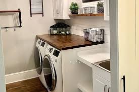 the top 64 small laundry room ideas
