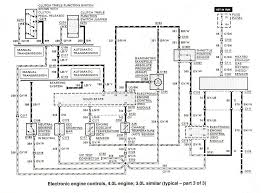 ford ranger bronco ii electrical diagrams at the ranger station 3 0 4 0 electronic engine controls 3 of 3