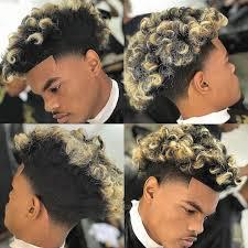 Populaires Coiffure Homme Afro Teinture Teinture Cheveux
