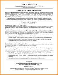 4 Good Resume Sample Latest Cv Format